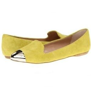 Dolce Vita Metal Cap Suede Flats LIKE NEW!